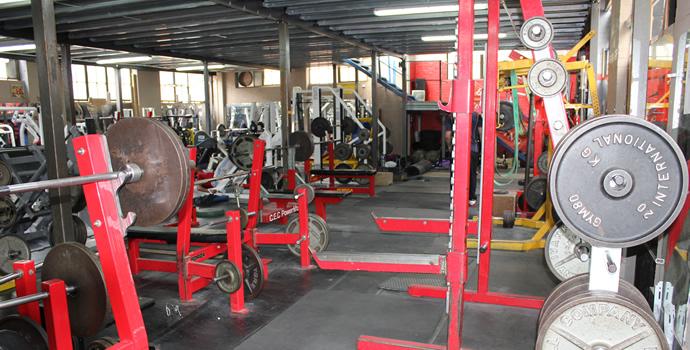 Genesis gym professional hardcore powerlifting